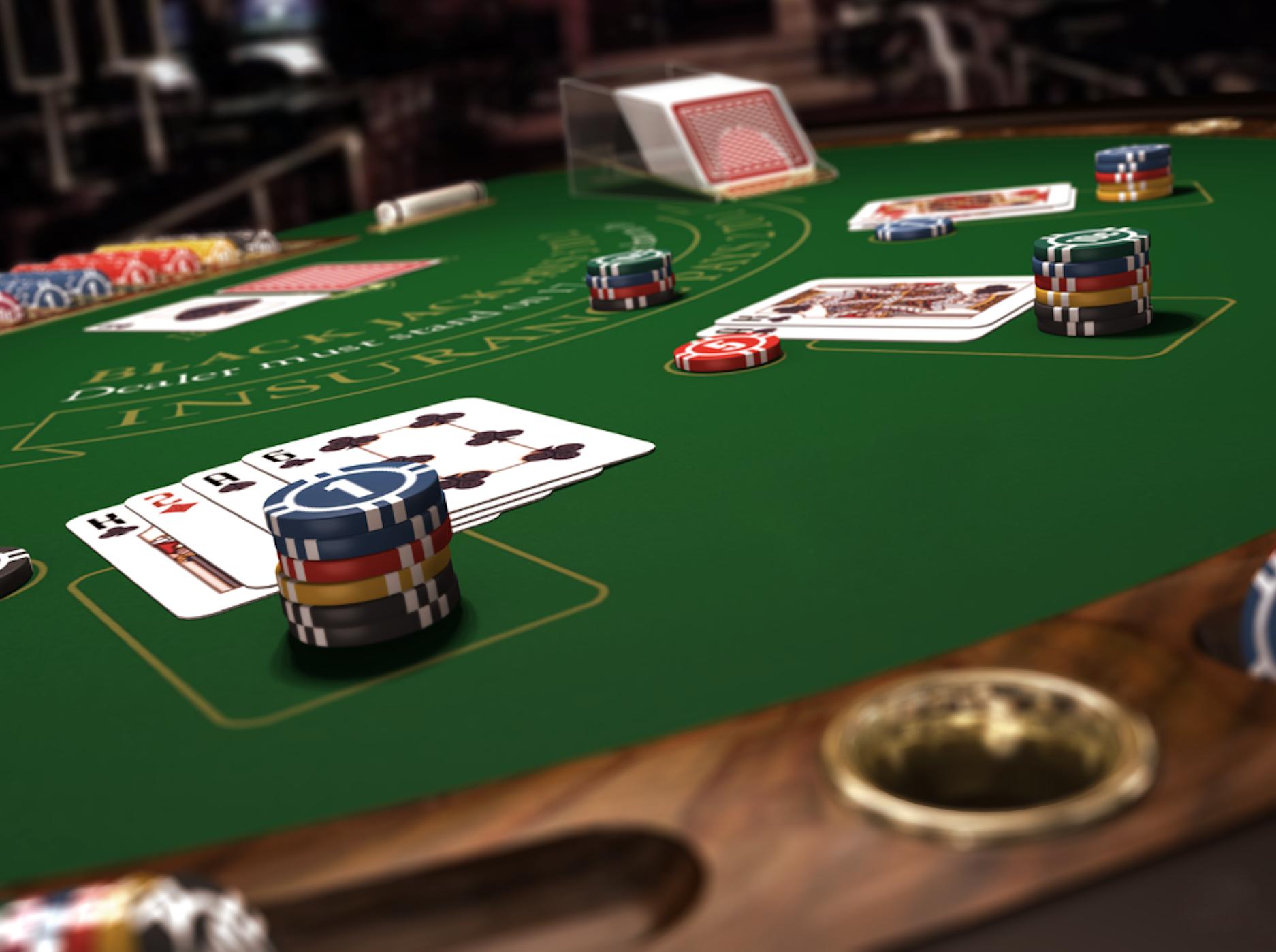 блекджек играть онлайн на деньги