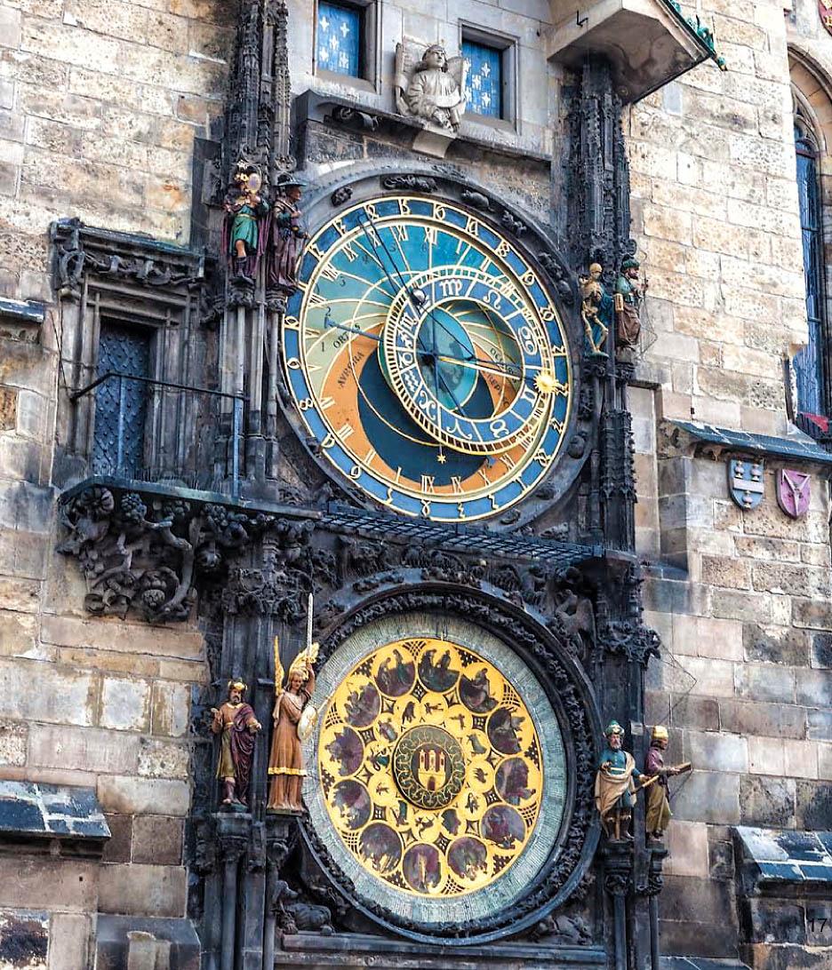 Знаменитые часы в праге